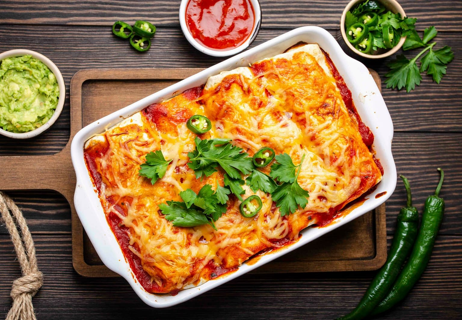 barbacoa enchiladas