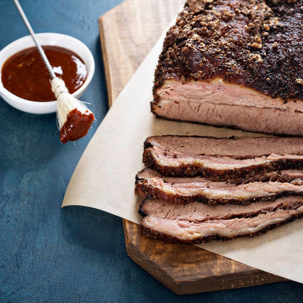 slowly cooked brisket