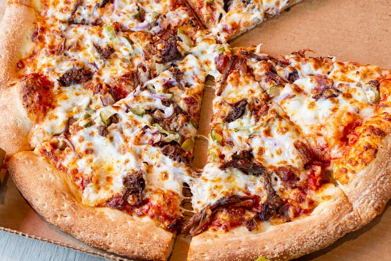 brisket pizza